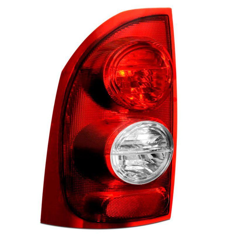Lanterna Traseira GmMontana 2004 a 2009 Bicolor com Ré Cristal Lado Esquerdo 24501  - AutoParts Online