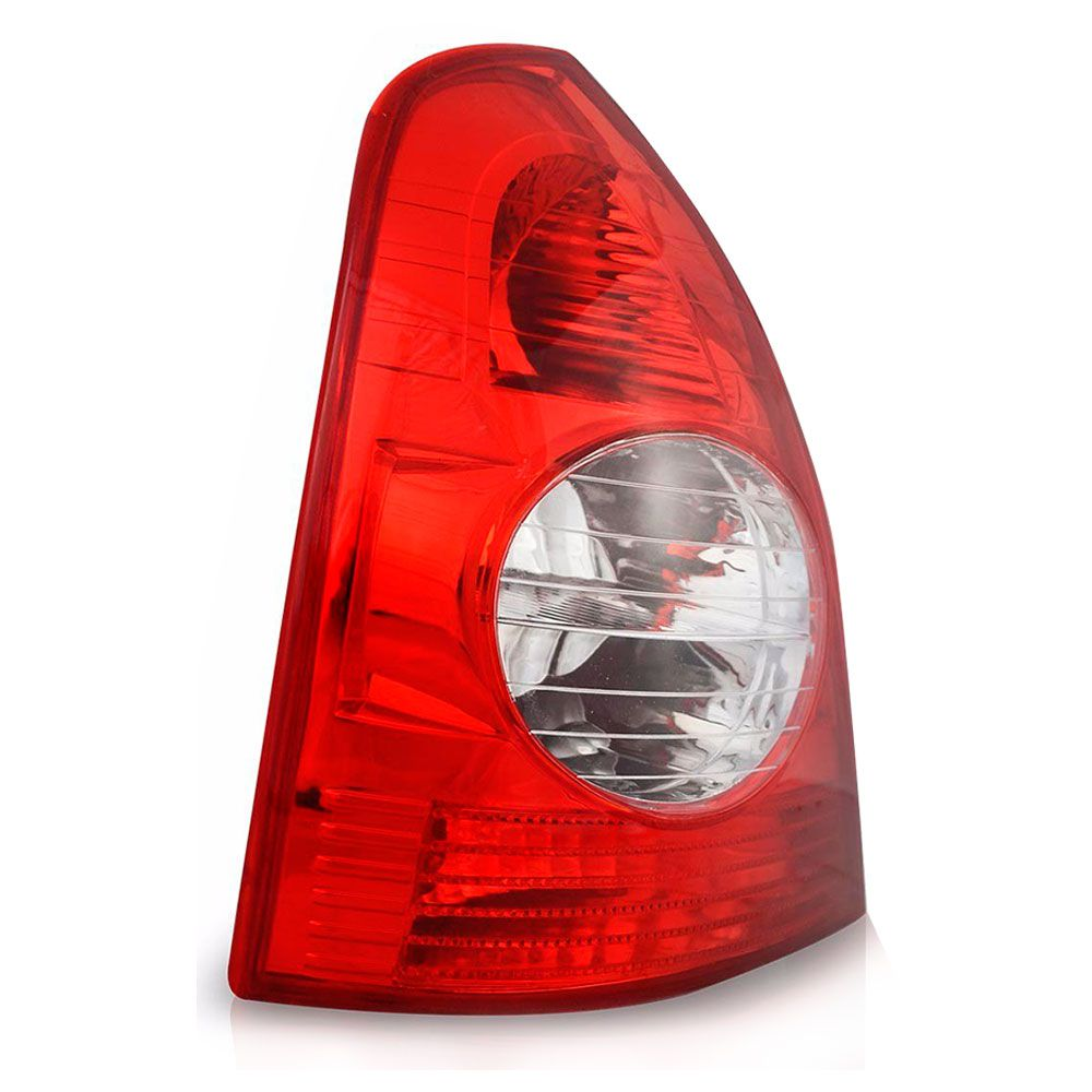 Lanterna Traseira Renault Clio 2003 em diante Bicolor Lado Esquerdo  - AutoParts Online