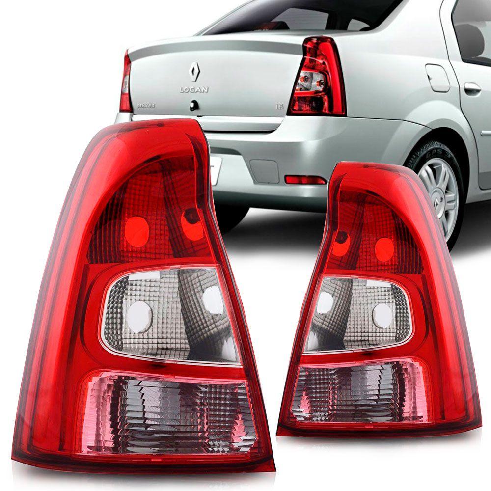 Lanterna Traseira Renault Logan 2011 a 2013 Bicolor Lado Direito 32145  - AutoParts Online