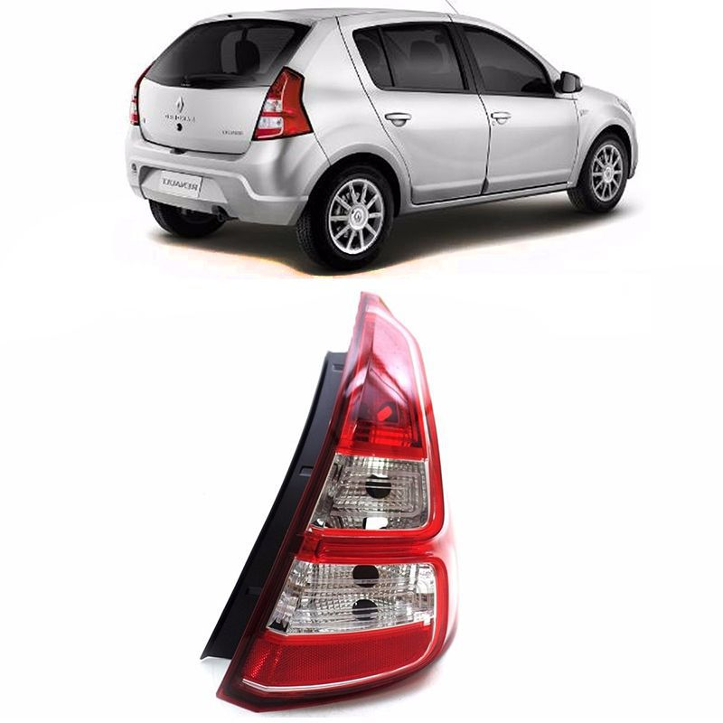 Lanterna Traseira Renault Sandero 2012 a 2014 Lado Direito  - AutoParts Online