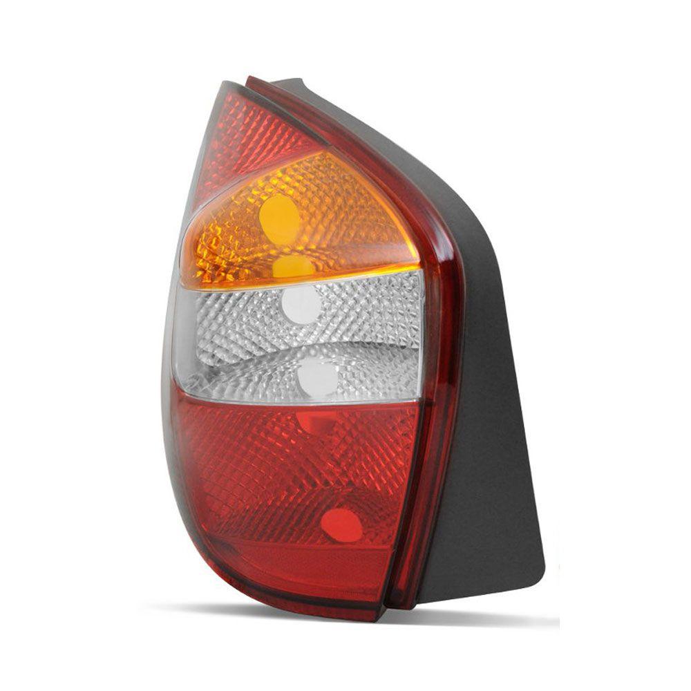 Lanterna Traseira Tricolor Fiat Palio 2001 a 2003 Lado Direito  - AutoParts Online