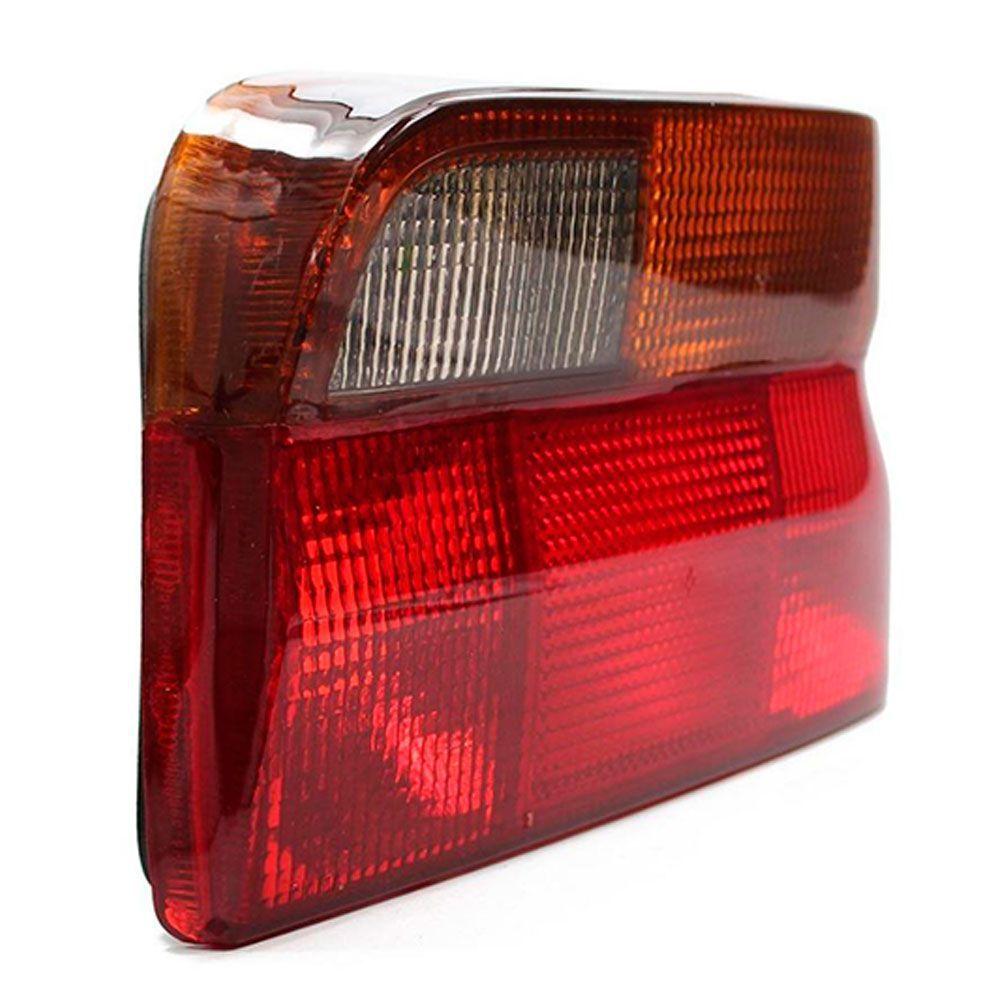 Lanterna Traseira Tricolor Fumê Ford Escort Sapão Verona 1993 a 1996 Lado Esquerdo  - AutoParts Online