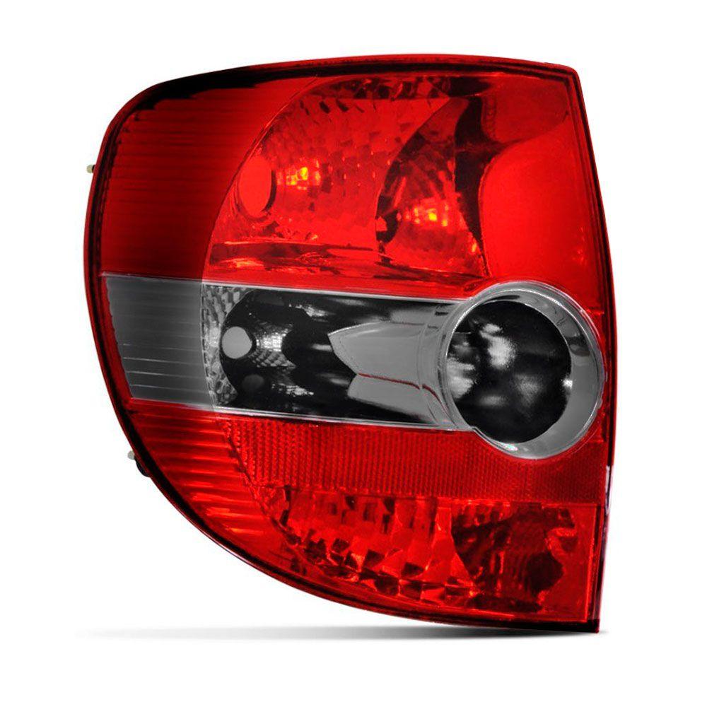 Lanterna Traseira VW Fox/Crossfox 2004 Bicolor Lado Esquerdo  - AutoParts Online