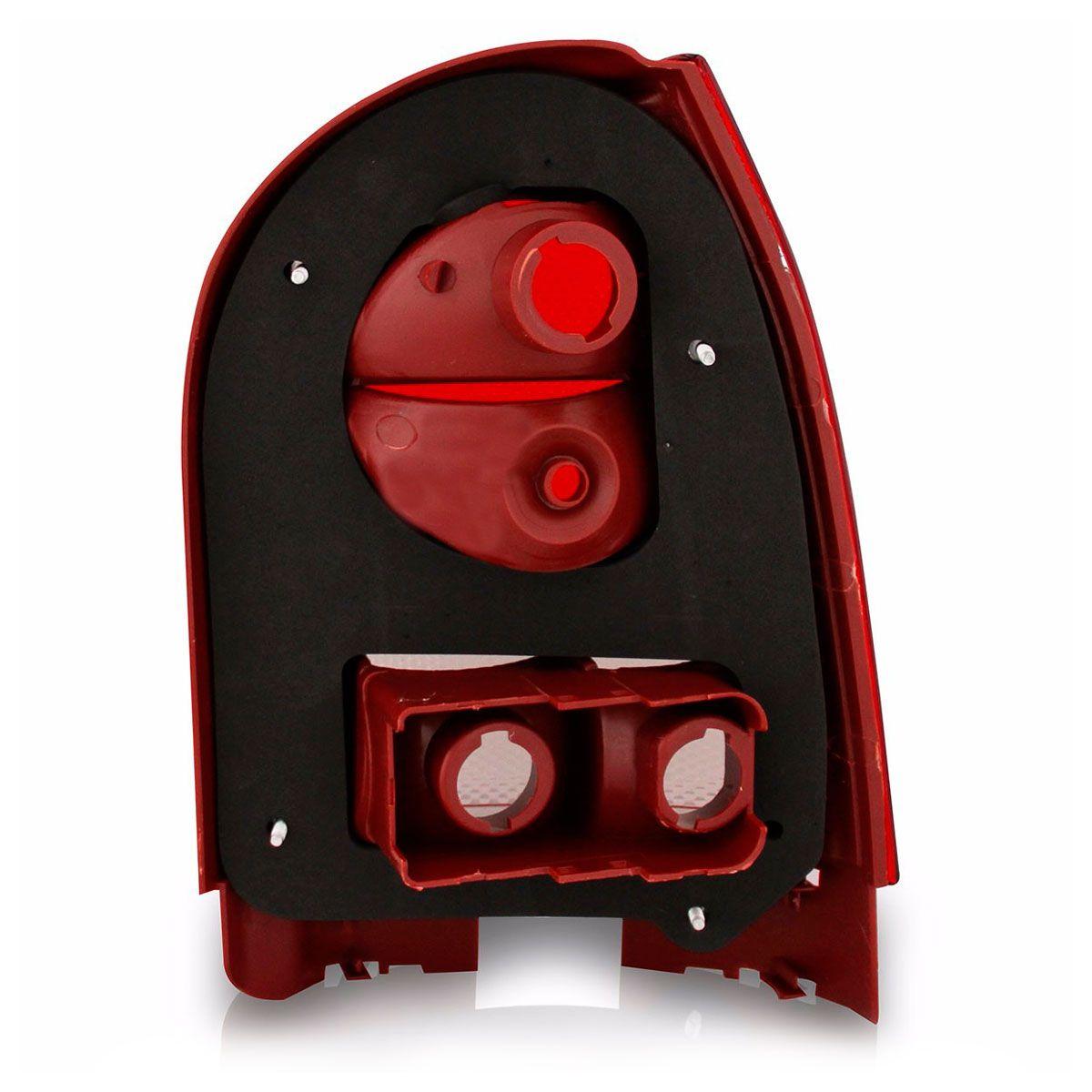 Lanterna Traseira Vw Gol G4 2006 a 2014 Ré Fumê Lado Esquerdo 33050FE  - AutoParts Online