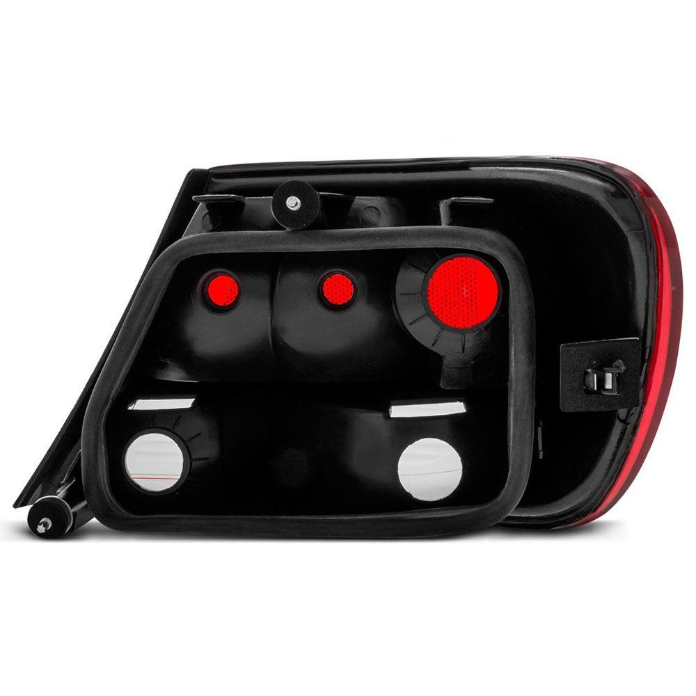 Lanterna Traseira Vw Gol G5 2009 a 2012 Ré Fumê Lado Direito 12302  - AutoParts Online
