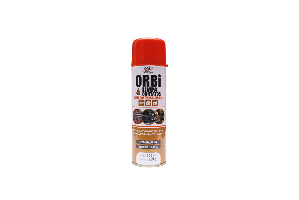 Limpa Contato Elétrico Spray Orbi 300ml  - AutoParts Online