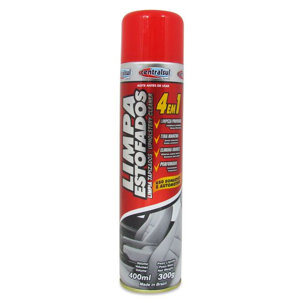 Espuma limpadora - p/estofado,plastico,vinil,carpete   - AutoParts Online
