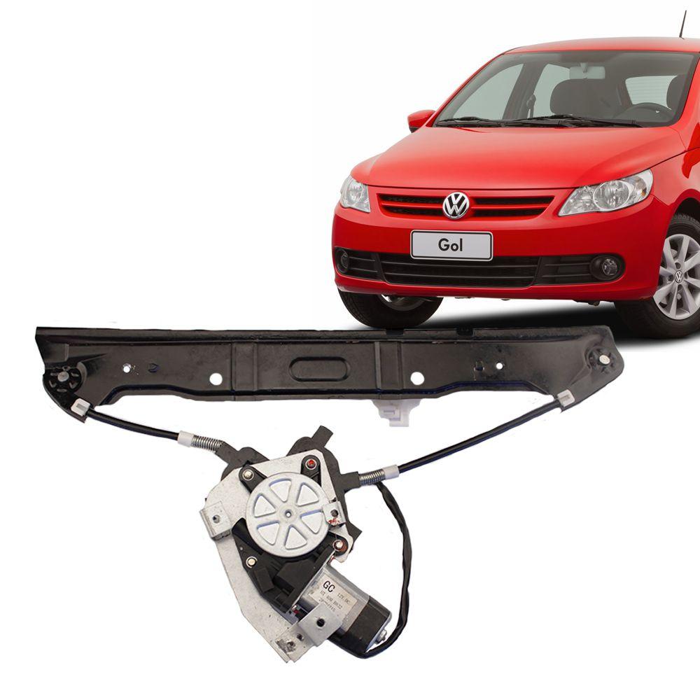 Máquina de Vidro Elétrico Vw Gol G5 Lado Direito com Motor  - AutoParts Online