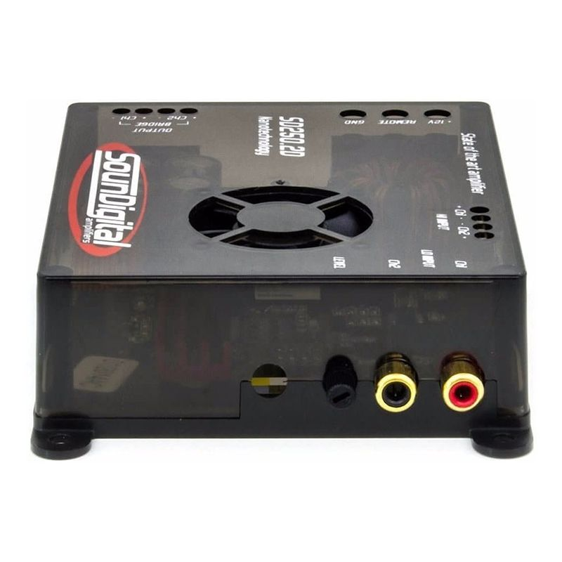 Módulo Amplificador SounDigital  SD250 2D4 Nano 250W Rms 2 Canais  4 Ohms  - AutoParts Online