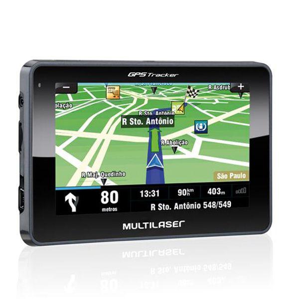 Navegador GPS Multilaser 4.3 Tracker III GP033  - AutoParts Online
