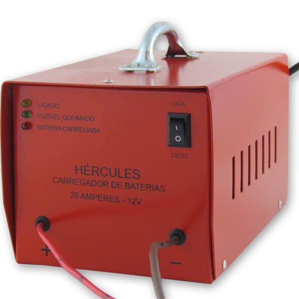 Carregador Automotivo de Bateria 12v 20 Amp Bivolt  - AutoParts Online
