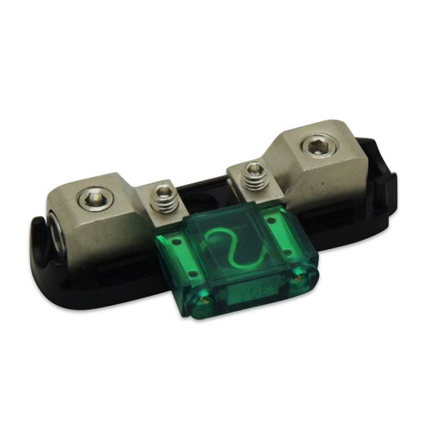 Porta Fusível Technoise DY 1 Via - Acrílico Fume Retangular Revestimento em Níquel  - AutoParts Online