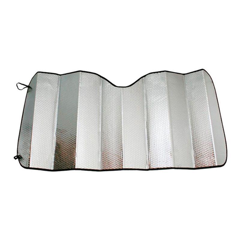 Protetor Solar Parasol Automotivo Parabrisa Frontal 150x60 cm Metalizado  - AutoParts Online
