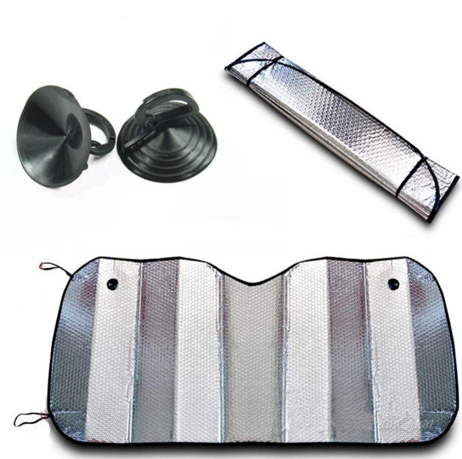 Protetor Solar Parasol Automotivo Parabrisa Frontal Metalizado  - AutoParts Online