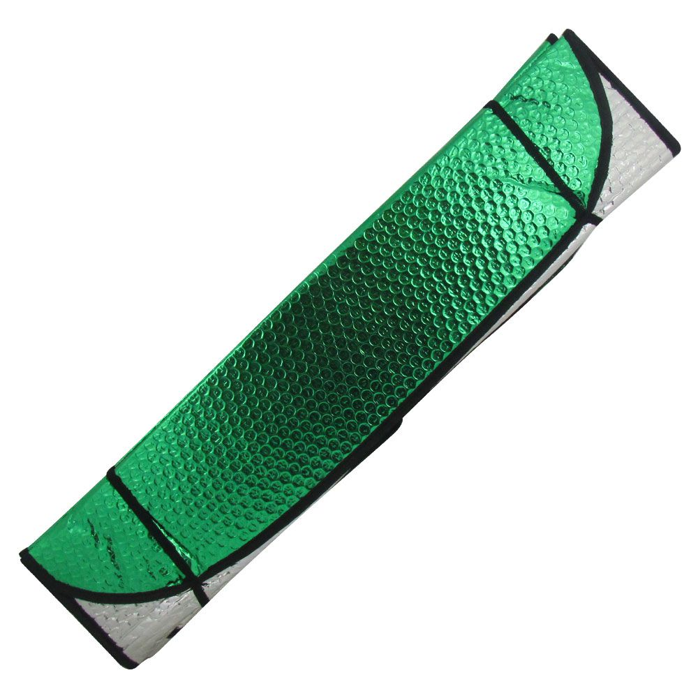 Protetor Solar Frontal Verde Metalizado  - AutoParts Online