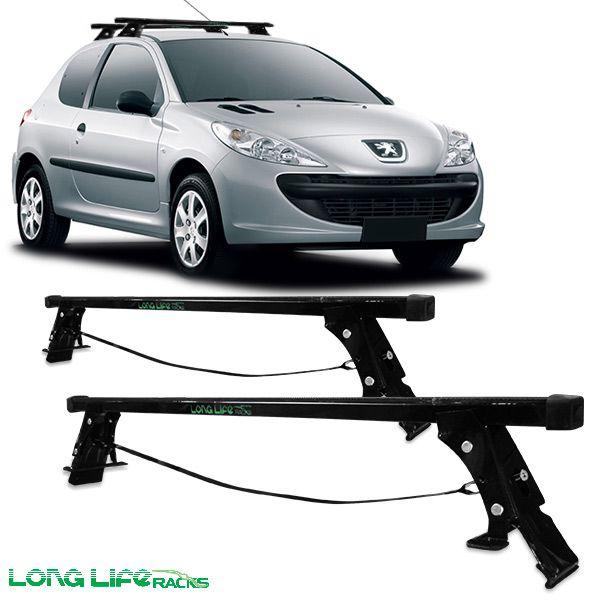 Rack Travessa Peugeot 206 207 Hacth e Sedan 2 Portas 206-2 60 Kg  - AutoParts Online