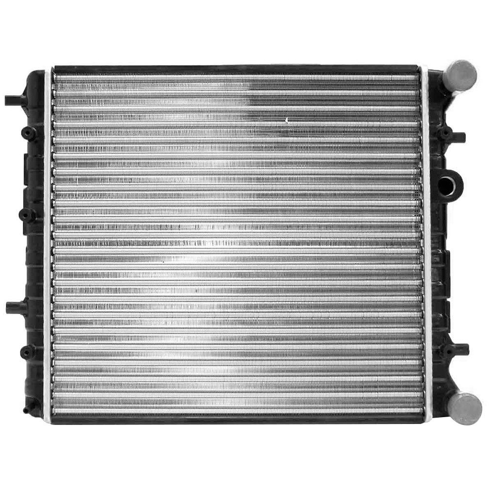 Radiador do Motor Vw Fox 1.0/1.6 Polo 1.6 2003 a 2006 Com Ventilador eletromagnético RV2516  - AutoParts Online