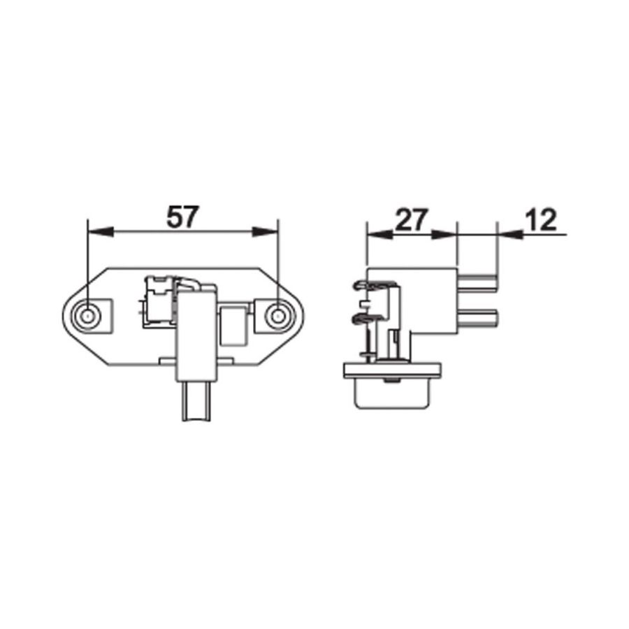 Regulador Eletronico de Voltagem Vw Gol Aplo Logus Parati Pointer Ford Escort Royale Verona F1000 Ranger Corsa S10 Silverado  - AutoParts Online