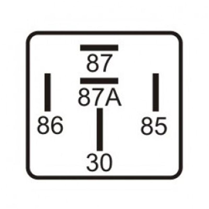 Relé Automotivo Dni Auxiliar de Comando 5 Terminais 40 30A 12V  - AutoParts Online