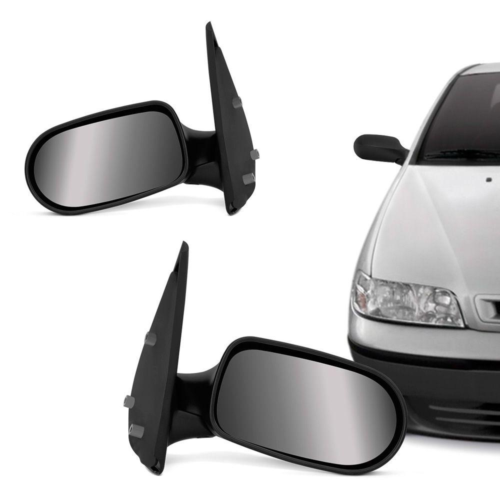 Espelho Retrovisor Manual Fiat Palio Fire Weekend Siena 2001 a 2003 4 Portas Direito  - AutoParts Online