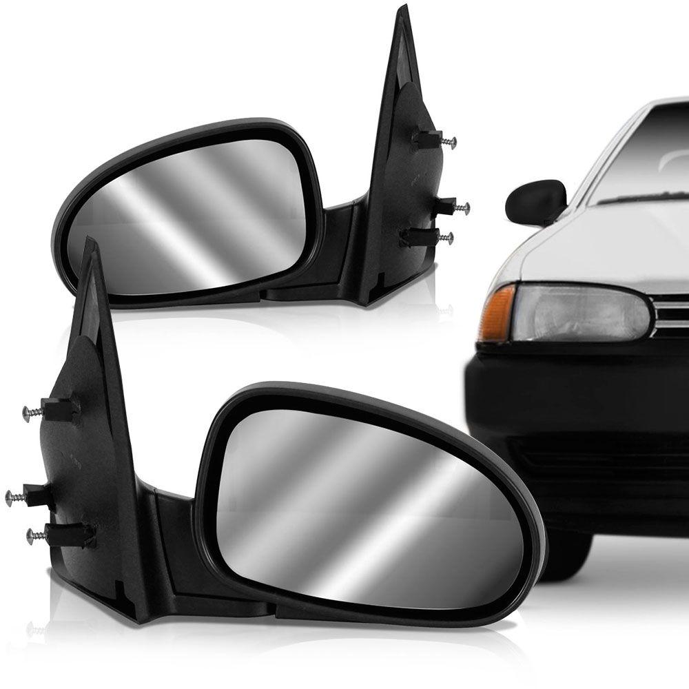 Espelho Retrovisor Manual Vw Gol 1995 a 1999 2 Portas Esquerdo  - AutoParts Online