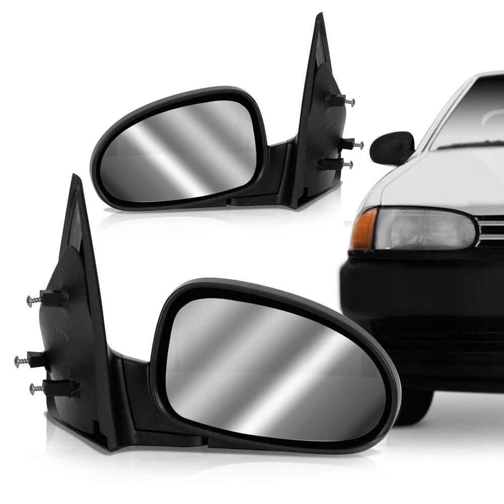 Retrovisor Externo Volkswagen Gol Parati G3 1999 em Diante Gol Special 2000 em Diante Gol Parati Saveiro 1995 em Diante Lado Direito  - AutoParts Online
