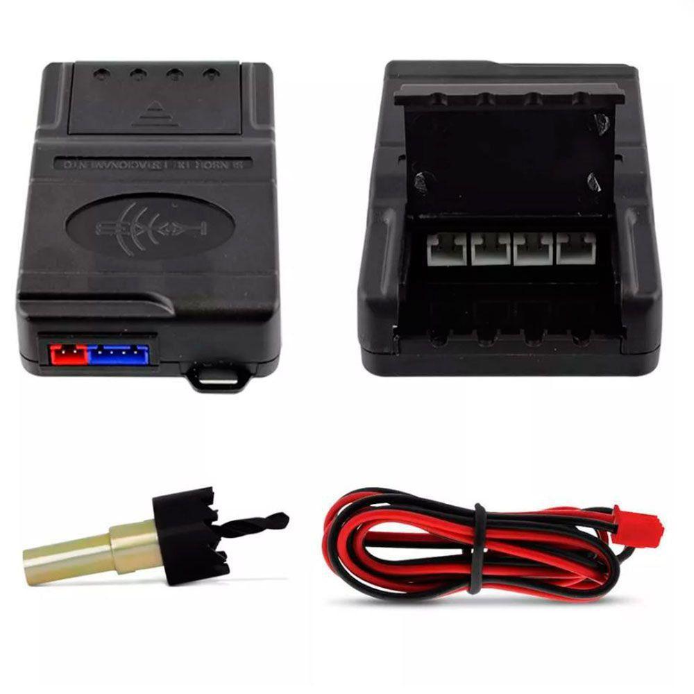 Sensor de Estacionamento c/ Display Emborrachado Preto  - AutoParts Online