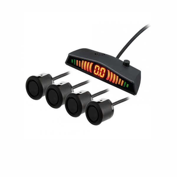 Sensor de Estacionamento Kx3 50210 Display Preto Fosco Ativa automaticamente  - AutoParts Online