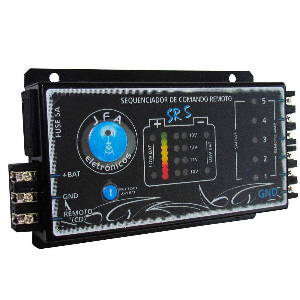 Sequenciador de Comando Remoto Jfa Sr5  - AutoParts Online