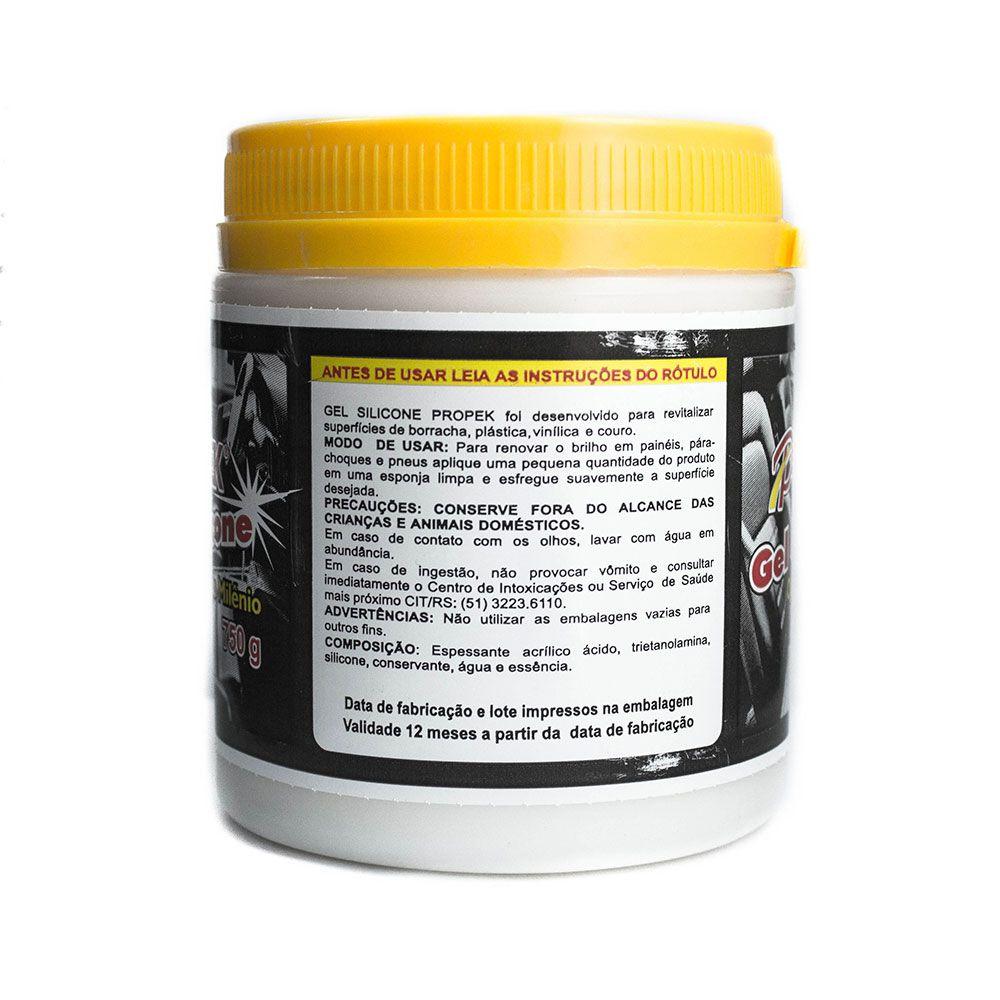Silicone Gel Revitalizador para Paines Parachoques e Pneus Pote 750g  - AutoParts Online