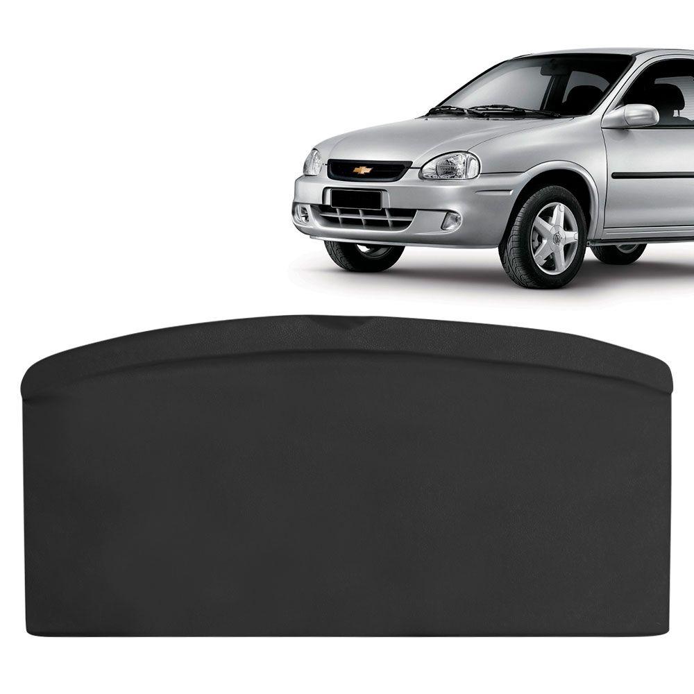 Tampão Traseiro Bagagito Porta Mala Corsa Antigo 2 e 4 Portas Courvin Preto  - AutoParts Online