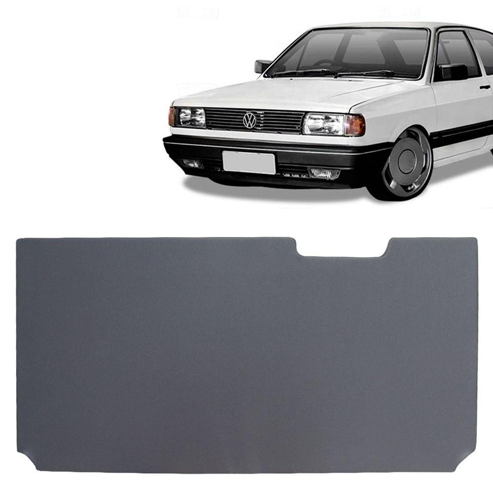 Tampão Traseiro Bagagito Porta Mala Gol 1981 a 1994 com Encaixe Limpador Madeira com Courvin Preto  - AutoParts Online