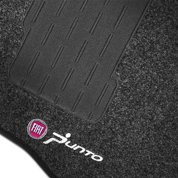 Tapete Automotivo Carpete Fiat Punto 2007 até 2012 com 4 Peças Grafite  - AutoParts Online