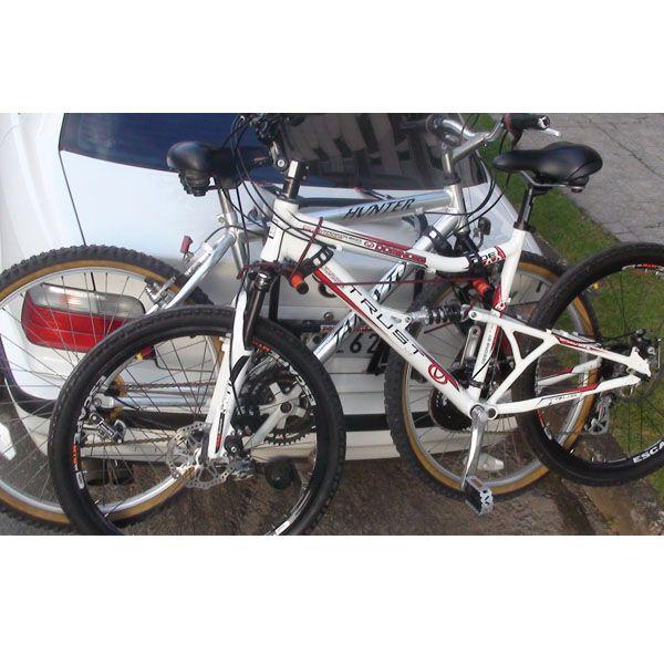 TransBike Suporte Para Transporte De Bicicleta Especial  Com Separador 2 Bike  - AutoParts Online