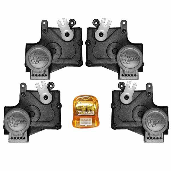 Trava Elétrica Específico p/ Fechadura Fiat, Chevrolet, Ford - 4 portas - KIT  - AutoParts Online