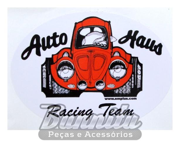 Adesivo modelo Auto Haus Racing Team  - Bunnitu Peças e Acessórios