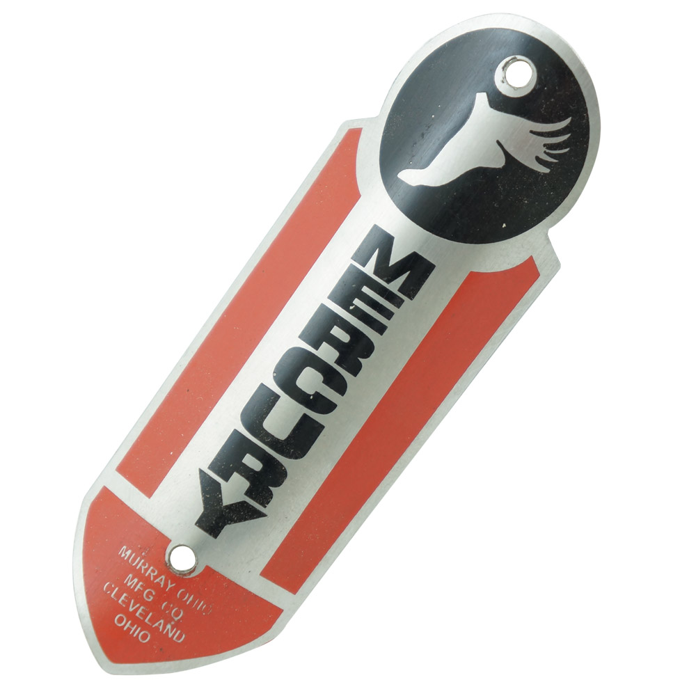 Emblema plaqueta para bicicleta modelo Mercury  - Bunnitu Peças e Acessórios