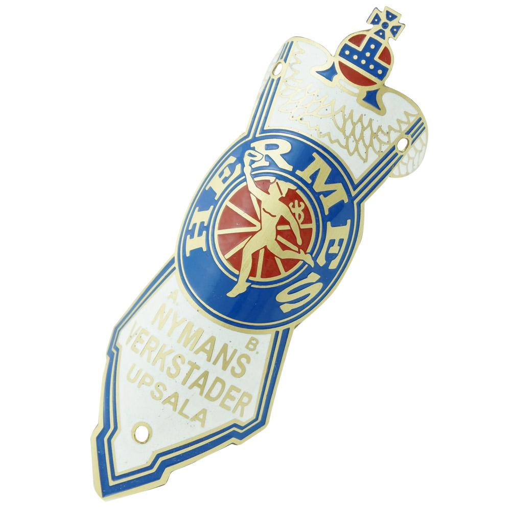 Emblema plaqueta para bicicleta modelo Hermes Nymans Verkstader  - Bunnitu Peças e Acessórios