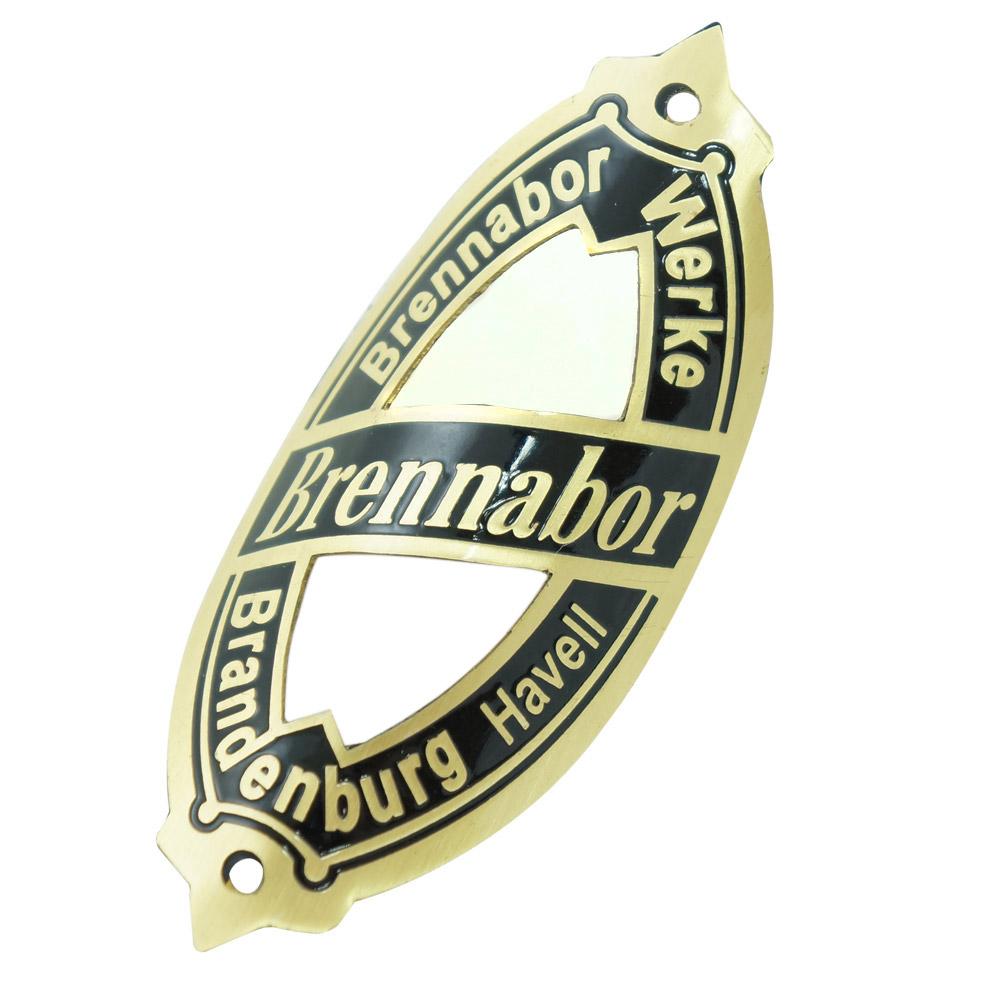 Emblema plaqueta para bicicleta modelo Brennabor  - Bunnitu Peças e Acessórios