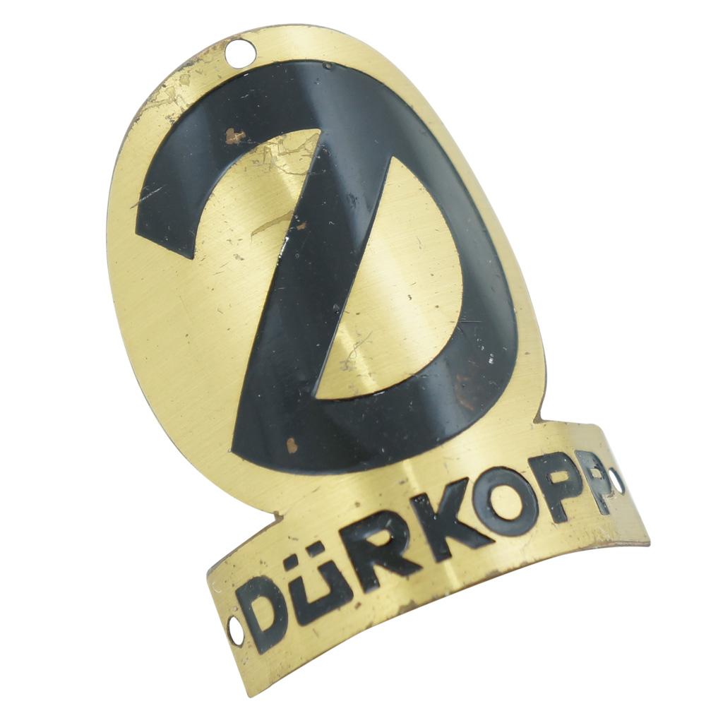Emblema plaqueta para bicicleta modelo Durkopp  - Bunnitu Peças e Acessórios