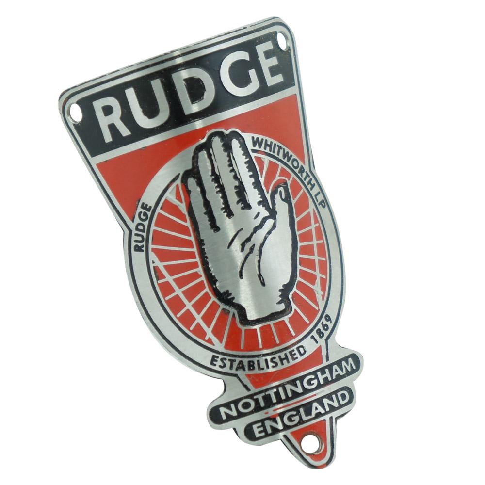 Emblema plaqueta para bicicleta modelo Rudge  - Bunnitu Peças e Acessórios
