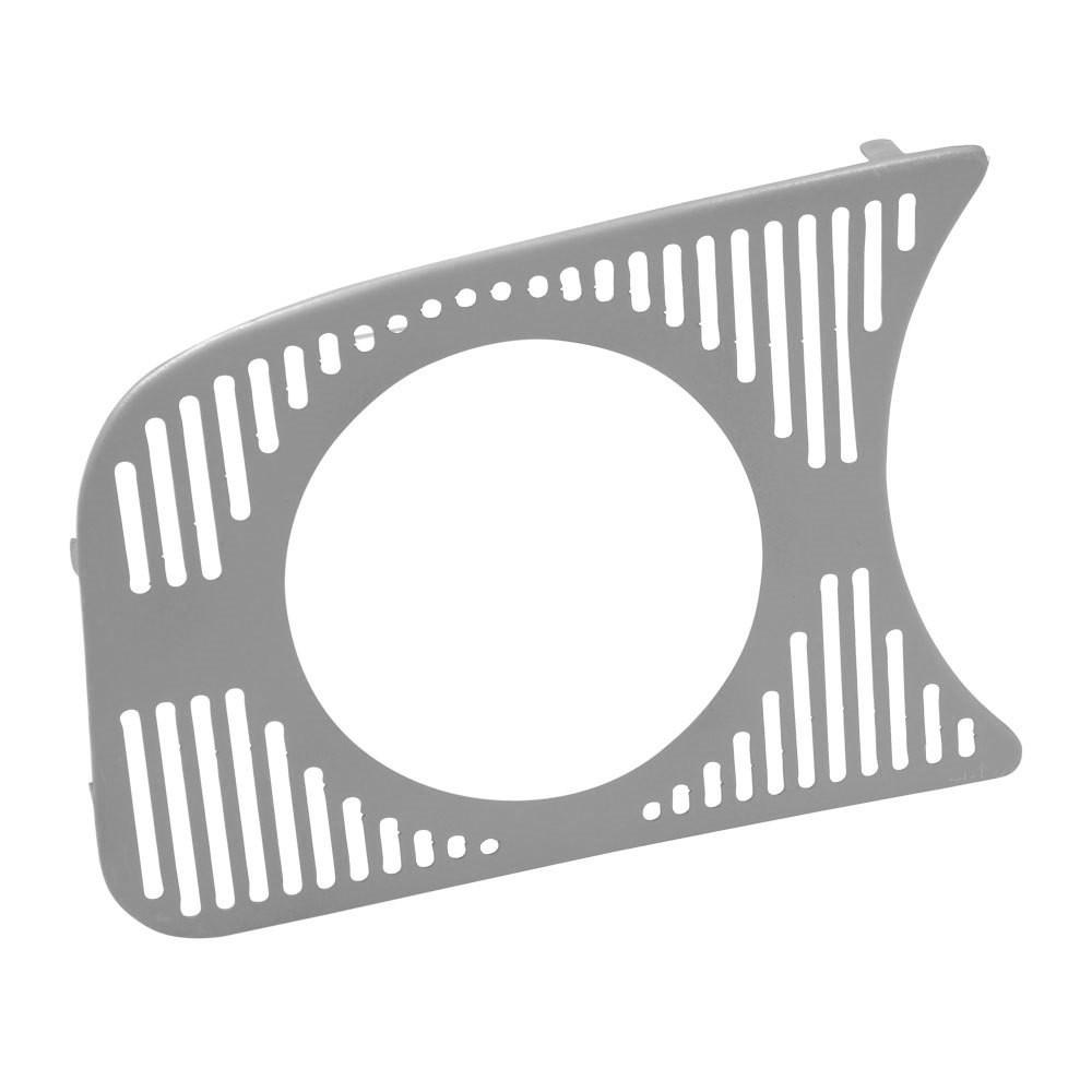 Grade tela de falante painel com 1 furo de 85mm VW Fusca  - Bunnitu Peças e Acessórios