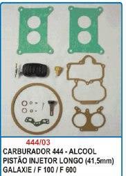 Kit de reparo do carburador DFV Weber 444 para Galaxie Landau, F100 e F600  - Bunnitu Peças e Acessórios
