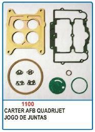 Kit de reparo do carburador Carter AFB Quadrijet  - Bunnitu Peças e Acessórios