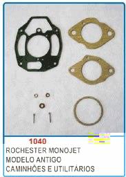 Kit de reparo do carburador Rochester Monojet para GM 6 cil  - Bunnitu Peças e Acessórios