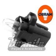 Lâmpada T5 com base plástica 12V 1.5 watts Osram