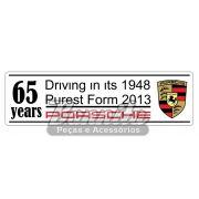 Adesivo modelo Porsche 65 years
