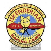 Adesivo modelo - Iskenderian Racing Cams