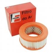 Filtro de ar Fram para carburação simples VW Fusca 1300, 1300L e 1500 após 1974