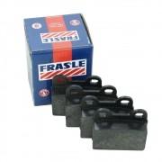 Jogo de pastilhas de freio Fras-le dianteira para VW Fusca, Brasília, Variant, TL, Puma, Gurgel e Alfa Romeo